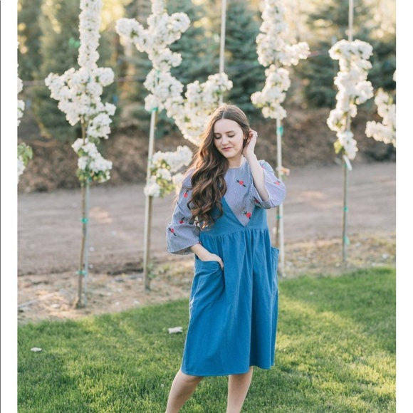 3e961b5cdebd polagram Dresses | Roolee Piper Scoot Boutique Jumper Dress | Poshmark